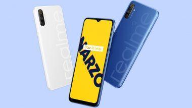 Flipkart वर आज दुपारी 12 वाजता Realme Narzo 10 चा सेल, गेमिंग फिचरसह जबरदस्त बॅटरी लाईफ असलेल्या स्मार्टफोनची 'ही' आहे किंमत