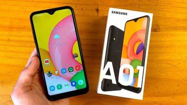 Samsung Galaxy M01s आणि Galaxy M01 Core स्मार्टफोन झाले स्वस्त, 'या' किंमतीत ग्राहकांना खरेदी करता येणार