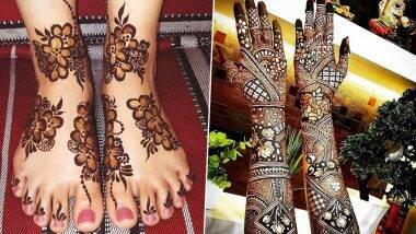 Sawan 2020 Mehndi Designs: मेहंदीशिवाय अपूर्ण आहे सावनची पूजा, ट्राय करून पाहा हे नवीन सोप्या अरबी, भारतीय डिझाईन्स (Watch Photos & Videos)