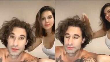 Sunny Leone Video: सनी लियोनी ने पति डेनियल वेबर ची मालिश करतानाचा मजेशीर व्हिडिओ केला शेअर; Watch Video