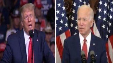 US Presidential Election 2020: राष्ट्रध्यक्षपदाच्या निवडणूकीसाठी Donald Trump आणि Joe Biden यांच्यामध्ये 29 सप्टेंबर ला पहिलं डिबेट!