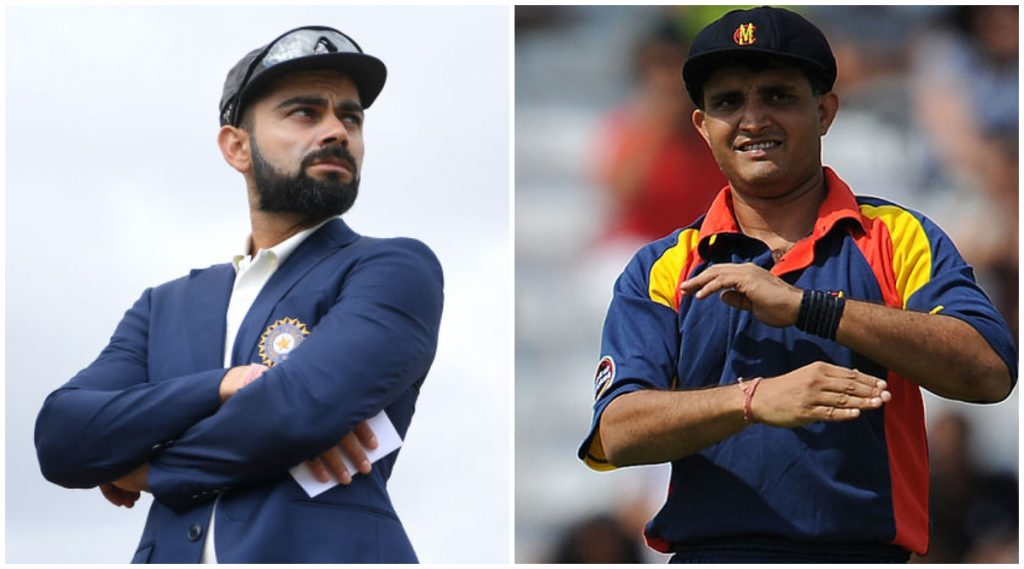 सौरव गांगुलीच्या XI ने टेस्ट क्रिकेटमध्ये विराट कोहलीच्या XI चा पराभव करू शकते, आकाश चोपडाचे मत; जाणून घ्या दोन्ही संघांच्या खेळाडूंची नावे
