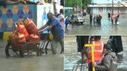 Mumbai Rain Update: दादर मधील हिंदमाता भागात मुसळधार पावसामुळे वॉटर लॉगिंग, Watch Video