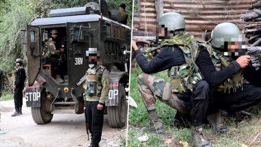 जम्मू आणि काश्मीर: 24 तासांत सुरक्षा रक्षक आणि दहशतवादी यांच्यातील दुसरी मोठी चकमक; शोपियां मध्ये 3 दहशतवाद्यांचा खात्मा