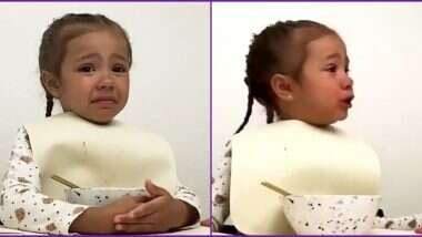 कोरोना व्हायरस लॉकडाऊनमध्ये सारं काही बंद असल्याने वैतागलेल्या 4 वर्षांच्या मुलीचा व्हिडिओ व्हायरल; नेटकऱ्यांकडून कमेंट्सचा वर्षाव (Watch Video)