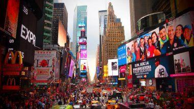अमेरिकेतही साजरा होणार राम मंदिराच्या भूमिपूजनाचा सोहळा; 5 ऑगस्ट रोजी न्यूयॉर्कच्या Times Square वर प्रदर्शित होणार श्री रामाचे छायाचित्र व अयोध्येच्या मंदिराचे मॉडेल