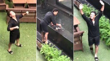 Sachin Tendulkar Enjoys Mumbai Rains: मुंबईच्या पावसात भिजताना सचिन तेंडूलकर झाला Nostalgic; मुलगी सारा तेंडूलकरने कॅमेरामध्ये कैद केल्या भावना (Watch Video)