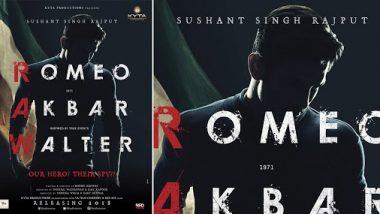 बॉलिवूड अभिनेता सुशांत सिंह राजपूत ने 'या' कारणासाठी सोडला होता RAW चित्रपट