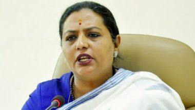 पनवेल येथील इंडिया बुलच्या क्वारंटाइन सेंटरमध्ये बलात्कार करणाऱ्या आरोपीविरोधात कठोर कारवाई करावी; महिला व बाल विकास मंत्री यशोमती ठाकूर यांची गृहमंत्री अनिल देशमुख यांच्याकडे मागणी