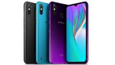 Infinix Smart 4 Plus Launched In India: इनफिनिक्स कंपनीने भारतात लॉन्च केला स्वस्त स्मार्टफोन; जाणून घ्या किंमत आणि फिचर्स