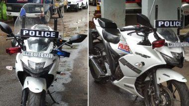 Corporate Social Responsibility Campaign: कॉर्पोरेट सोशल रिस्पॉन्सिबिलिटी मोहिमेअंतर्गत मुंबई वाहतूक पोलिसांच्या ताफ्यात 'Gixxer 250 SF' स्पोर्ट्स बाईक सामील