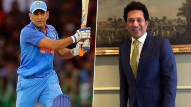 Sachin Tendulkar Recommended MS Dhoni for Captaincy: एमएसधोनीला कर्णधारपद मिळवून देण्यात सचिन तेंडुलकरची काय होतीभूमिका? वाचा सविस्तर