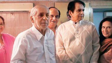 दिलीप कुमार यांचे भाऊEhsaan Khan आणि Aslam Khan यांना कोरोना विषाणूची लागण; उपचारासाठी लीलावती रुग्णालयात दाखल