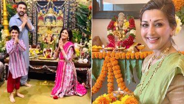 Ganesh Chaturthi 2020: सोनाली बेंद्रे, सलमान खान, शिल्पा शेट्टी यांच्यासह इतर बॉलिवूड सेलिब्रिटींंच्या घरचा बाप्पा (View Photos)