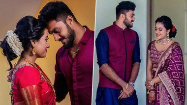 Vijay Shankar Gets Engaged: आयपीएल 13 साठी रवाना होण्यापूर्वी टीम इंडियाचा अष्टपैलू विजय शंकरने केला साखरपुडा, पाहा खास क्षणांचे 'हे' Photos