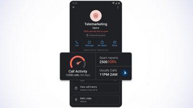Truecaller Spam Activity Indicator: अॅनरॉईड युजर्ससाठी Truecaller चे नवे फिचर; स्पॅम नंबरची अॅक्टीव्हीटी पाहता येणार