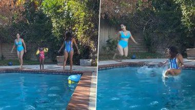 Sunny Leone हिची लेक निशासोबत स्विमिंग पूलमध्ये मस्ती, पाहा हा मजेशीर व्हिडिओ