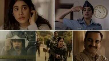 Gunjan Saxena Trailer: जान्हवी कपूर चा चित्रपट 'गुंजन सक्सेना- द कारगिल गर्ल' चा ट्रेलर प्रदर्शित; शाहरुख खान ने व्हिडिओ शेअर करून दिल्या शुभेच्छा