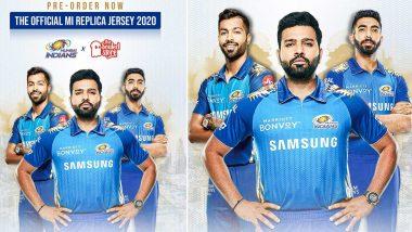 IPL 2020 साठी मुंबई इंडियन्स संघाची नवी जर्सी लॉन्च (Watch Video)