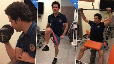 Sachin Tendulkar Hits the Gym: अनलॉक 3 नंतर मास्टर-ब्लास्टर सचिन तेंडुलकरने गाठले Gym, सोशल मीडियावर शेअर केला व्हिडिओ (Watch Video)