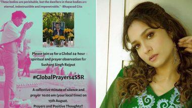 #GlobalPrayers4SSR: सुशांतच्या आत्म्याला शांती मिळावी म्हणून 15 ऑगस्टला ग्लोबल प्रेअर्सचे आयोजन; अंकिता लोखंडे हिने पोस्ट शेअर करुन चाहत्यांना सहभागी होण्याचे केले आवाहन