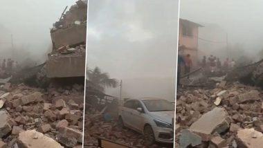 Building Collapses in Mahad: रायगड जिल्ह्यात इमारत कोसळल्याच्या दुर्घटनेप्रकरणी NDRF च्या पथकाने शक्य तेवढी मदत करावी- अमित शहा