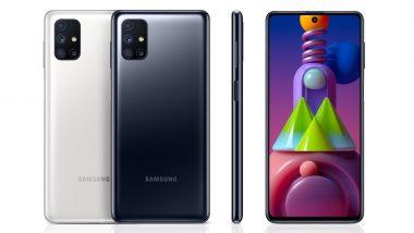 Samsung Galaxy M51 लाँच; 7000mAh ची बॅटरी असलेल्या या स्मार्टफोनची वैशिष्ट्ये ऐकून तुम्हीही व्हाल थक्क!