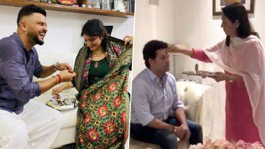 Raksha Bandhan 2020: सचिन तेंडुलकर, गौतम गंभीरसहभारतीय खेळाडूंनी साजरा केला यंदाचा 'वेगळा' रक्षाबंधन; युवराज सिंह रमला जुन्या आठवणीत, पाहा Posts