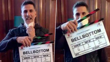 Bell Bottom चित्रपटाच्या शूटिंगला सुरुवात; पाहा खिलाडी अक्षय कुमारचा हटके अंदाजातील 'Action' व्हिडिओ