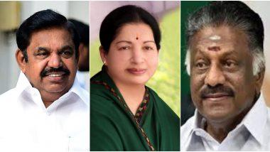 Tamil Nadu Assembly Election 2020: नवे पॅकींग जुना चेहरा, AIADMK पक्षाकडून तामिळनाडू विधानसभा 2021 लढण्यासाठी मुख्यमंत्री पादाचे नाव घोषीत