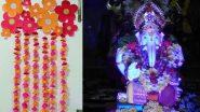 Eco Friendly Ganpati Decoration Ideas: गणपती बाप्पाला विराजमान करण्यासाठी आकर्षक आणि पर्यावरणपूरक सजावट, मखर कसा बनवाल? (Watch Video)