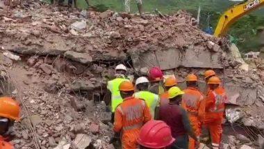 Raigad Building Collapse:  तारिक गार्डन इमारत दुर्घटना प्रकरणी रायगड पोलिसांकडून 5 जणांविरूद्ध गुन्हा दाखल