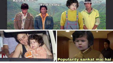 Taimur's Competitor Memes: सैफिना पाठोपाठ विरूष्का ने बाळाची गूडन्यूज शेअर करताच नेटकर्यांमध्ये तैमुरच्या स्टारडम बद्दल उत्सुकता; शेअर केले मजेशीर मीम्स, जोक्स!