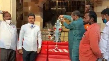 महाराष्ट्र राज्यभर दूध दरवाढीसाठी आंदोलनं सुरू; पुणे, पंढरपूर मध्ये निदर्शनं