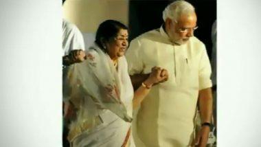 भारताची गानकोकिळा लता मंगेशकर यांच्याकडून पंतप्रधान नरेंद्र मोदी यांना रक्षाबंधनाच्या दिवशी खास शुभेच्छा!