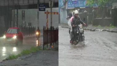 Mumbai Rain Updates: मुंबई मध्ये मुसळधार पावसामुळे सखल भागात पाणी साचायला सुरूवात (View Photos)