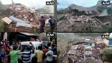 Mahad Building Collapse: रायगड जिल्ह्यातील महाड येथे 5 मजली इमारत कोसळली; 15 लोकांना वाचवण्यात यश, 200 हून अधिक लोक अडकल्याची भीती (Video)