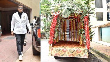 Ekta Kapoor Ganesh Visarjan: एकता कपूरच्या घरी होणार 5 दिवसांच्या गणपतीचे विसर्जन; अनेक सेलेब्जनी लावली हजेरी (See Photo)