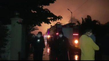 Palghar: तारापूर इंडस्ट्रियल एरियातील Nandolia Organic Chemicals मध्ये स्फोट; लागलेल्या आगीत एकाचा मृत्यू व तीन जण गंभीर जखमी, बचाव कार्य सुरु
