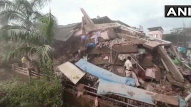 Building Collapses in Mahad Update: रायगड मधील पाच मजली इमारत कोसळल्याच्या दुर्घटनेत एका व्यक्तीचा मृत्यू तर 7 जण जखमी