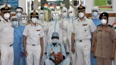 मुंबई: भारतीय नौदलातील सेवानिवृत्त 98 वर्षाच्या Sepoy यांचा कोरोनाच्या विरोधात यशस्वी लढा
