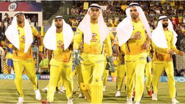 IPL 2020: इंडियन प्रीमिअर लीग13 साठी चेन्नई सुपर किंग्स सज्ज,हबीबी मोडमधील एमएस धोनी आणि टीमचाफोटो केला शेअर(See Pic)