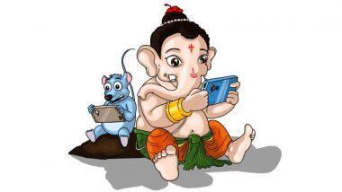 Ganesha Whatsapp Stickers Download: गणेश चतुर्थी च्या शुभेच्छा देण्यासाठी 'या' सोप्प्या स्टेप्स वापरुन डाउनलोड करा बाप्पाचे व्हॉटसअॅप स्टिकर्स