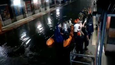 Heavy Rains In Mumbai: पावसामुळे मुंबई लोकलमध्ये अडकलेल्या 290 प्रवाशांची NDRF पथकाकडून सुटका
