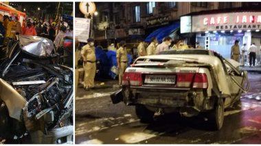 मुंबई: भरधाव होंडा सिटी कारच्या धडकेत 4 ठार, 4 जखमी;  क्रॉफर्ड मार्केट येथील घटना
