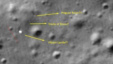 Chandrayaan-2: चंद्रावर रोवर प्रज्ञान शाबूत असण्याची शक्यता; NASA ने शेअर केले फोटो, भारताच्या आशा पल्लवित