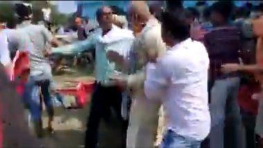 बिहार: भाजप समर्थकांना बदडले, खासदारांनाही धक्काबुक्की?  संतप्त पूरग्रस्तांचा कथीत व्हिडिओ सोशल मीडियावर व्हायरल