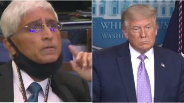 Journalist Shirish Date: भारतीय वंशाचे पत्रकार शिरीष दाते यांनी अमेरिकेचे राष्ट्राध्यक्ष डोनाल्ड ट्रम्पला विचारला 'हा' प्रश्न; राष्ट्राध्यक्ष म्हणाले 'पुढचा प्रश्न'