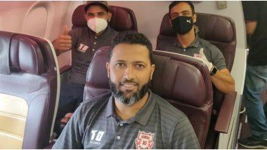 IPL 2020 Update: किंग्ज इलेव्हन पंजाबची चाहत्यांना गुड मॉर्निंग गिफ्ट; मोहम्मद शमी, वसीम जाफरसह टीम UAE साठी रवाना, पाहा Photo