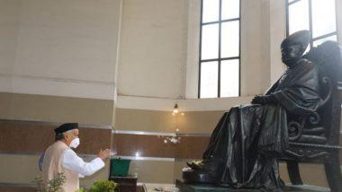 मुंबई: राज्यपाल भगत सिंग कोश्यारी यांनी जेजे रुग्णालयाला दिली भेट; डॉक्टर्स, नर्ससह अन्य कर्मचाऱ्यांच्या कामाचे केले कौतुक